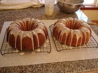 Pair of Bundt Cakes